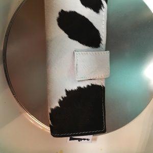 Cowhide wallet, cowhide clutch